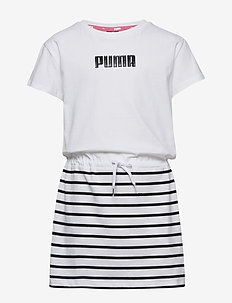 Alpha Dress G - mekot - puma white