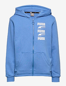 Rebel Bold Hooded Jacket TR B - palace blue