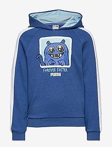 Monster Hoody - bright cobalt