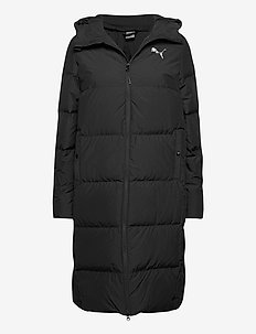Long Oversized Down Coat - parki - puma black