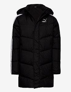 T7 Down Coat B - daunen- und steppjacken - puma black