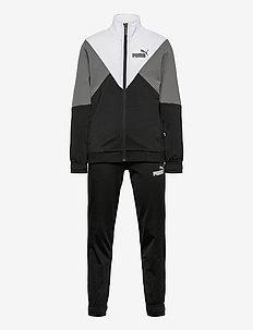 Rebel Poly Suit cl B - tracksuits - puma black