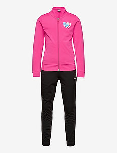 Poly Suit G - tracksuits - glowing pink-puma black