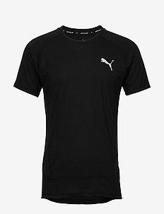 EVOSTRIPE  Tee - t-shirts - puma black