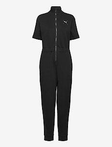 Nu-tility Jumpsuit - toppe og t-shirts - puma black