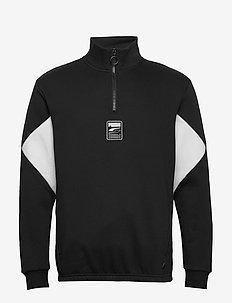 Rebel Half-Zip FL - sweatshirts - puma black