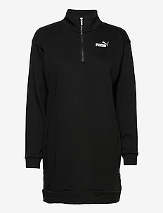 ESS+ Half-Zip Dress TR - sports jackets - puma black