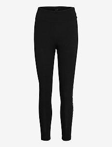 Rebel High Waist 7/8 Leggings - löpnings- och träningstights - puma black-untamed