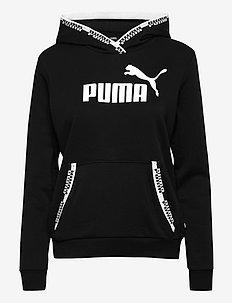 Amplified Hoodie TR - hoodies - puma black