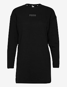Modern Basics Crew Dress TR - alledaagse jurken - puma black