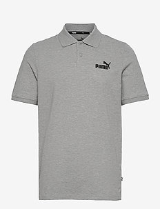 ESS Pique Polo - paidat - medium gray heather