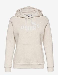 ESS Logo Hoodie FL (s) - hoodies - puma white heather