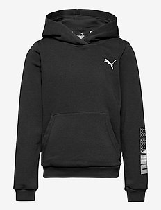 Graphic Hoodie G - hoodies - puma black