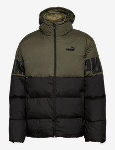 ESS + CB Down Jacket - sportjackor - grape leaf