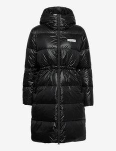 Adjustable Down Coat - parkas - puma black