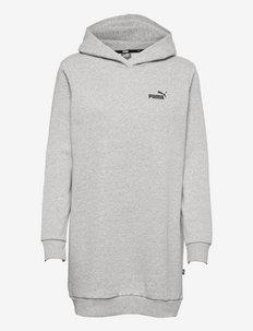 ESS Hooded Dress FL - sukienki letnie - light gray heather
