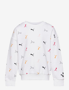Classics Graphics AOP Crew G - sweaters - puma white