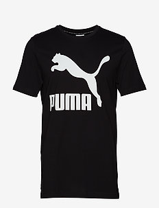 Classics Logo Tee - PUMA BLACK