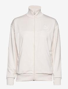 Classics Poly Track Jkt - sweatshirts - pastel parchment