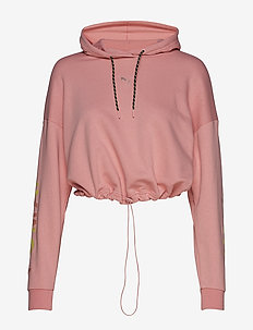 Chase Cropped Hoody - BRIDAL ROSE
