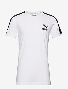 Iconic T7 Tee Slim Fit - PUMA WHITE
