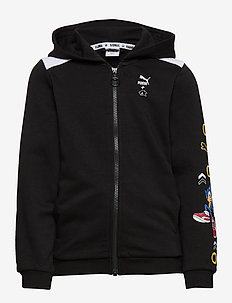 PUMA X SEGA Hooded Jacket TR B - puma black