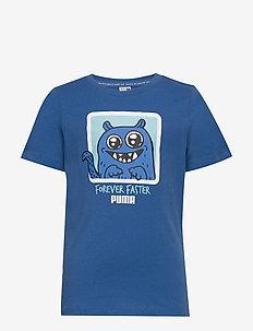 Monster Tee - short-sleeved - bright cobalt