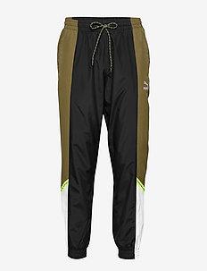 PUMA TFS Woven Pants - sweatpants - dark olive