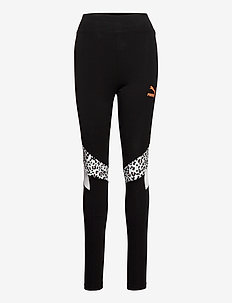 TFS HR Legging - leggings - puma black-animal