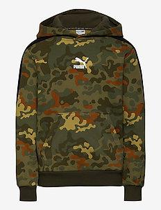 Classics Graphics AOP Hoodie TR B - hoodies - forest night