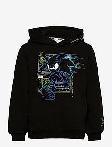 PUMA x SEGA Hoodie TR B - hættetrøjer - puma black