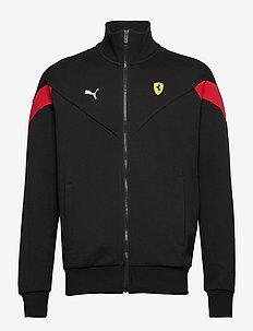 Ferrari Race MCS Sweat Jkt - podstawowe bluzy - puma black