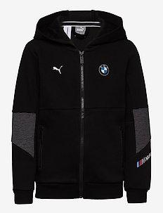 BMW MMS Kids Hooded Sweat Jacket - bluzy z kapturem - puma black