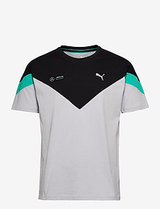 MAPM MCS Tee - t-shirts - mercedes team silver