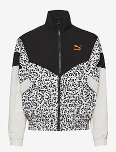TFS Track Jacket AOP Woven - sports jackets - puma black