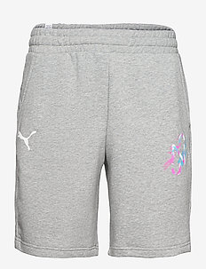 NEYMAR JR CREATIVITY Logo Shorts - krótkie spodenki - medium grey heather