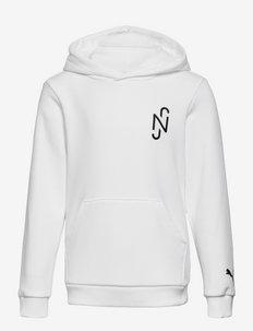 NEYMAR JR Copa Hoody Jr - hoodies - puma white