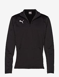 LIGA Training Fleece - football shirts - puma black-puma white