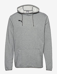 LIGA Casuals Hoody - MEDIUM GRAY HEATHER-PUMA BLACK