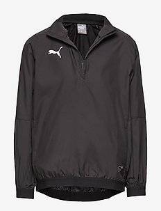 LIGA Training Windbreaker Jr - PUMA BLACK-PUMA WHITE