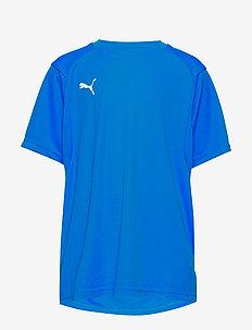 LIGA Training Jersey Jr - ELECTRIC BLUE LEMONADE-PUMA WHITE
