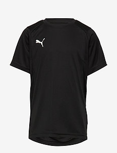 LIGA Training Jersey Jr - PUMA BLACK-PUMA WHITE