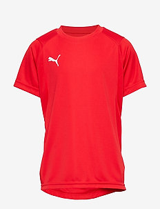 LIGA Training Jersey Jr - PUMA RED-PUMA WHITE