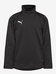 LIGA Training 1/4 Zip Top Jr - PUMA BLACK-PUMA WHITE