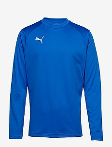 LIGA Training Sweat - football shirts - electric blue lemonade-puma white