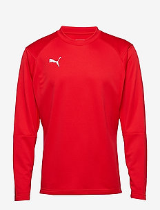 LIGA Training Sweat - football shirts - puma red-puma white