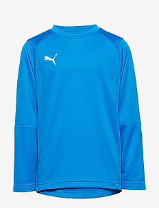 LIGA Training Sweat Jr - ELECTRIC BLUE LEMONADE-PUMA WHITE