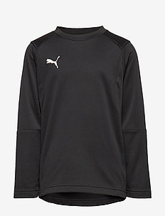LIGA Training Sweat Jr - PUMA BLACK-PUMA WHITE