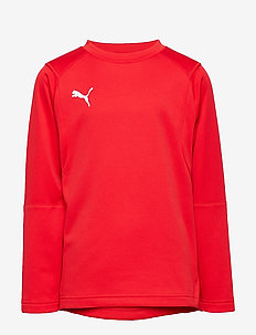 LIGA Training Sweat Jr - PUMA RED-PUMA WHITE
