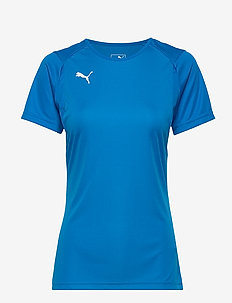 LIGA Training Jersey W - football shirts - electric blue lemonade-puma white